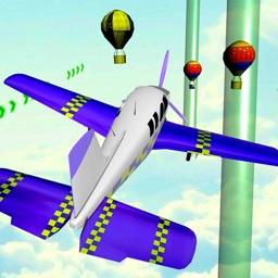 Robot Airplane Pilot Simulator