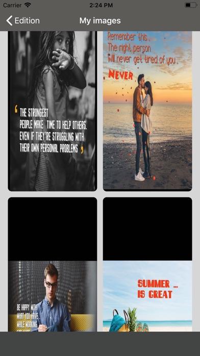 الكتابة على صور screenshot 3
