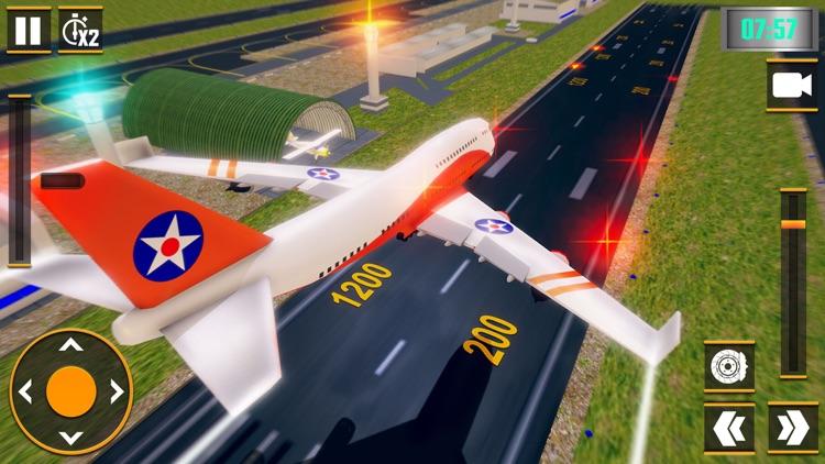 Flight Pilot Plane Simulator screenshot-5