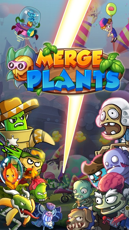 Merge Plants - Monster Defense