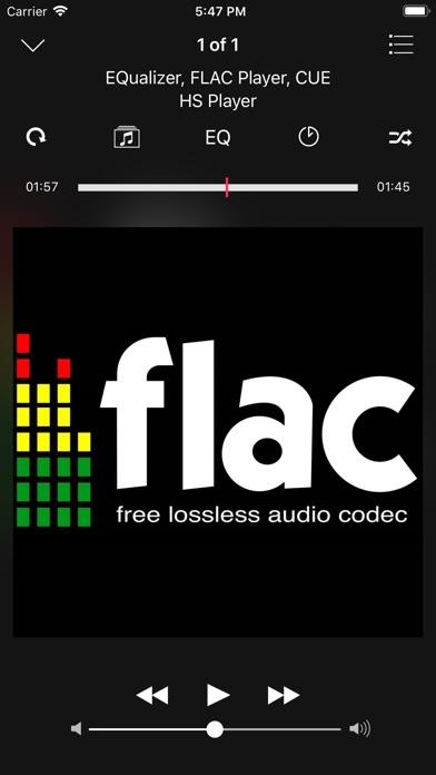 HS Player - FLAC, EQualizer Screenshots