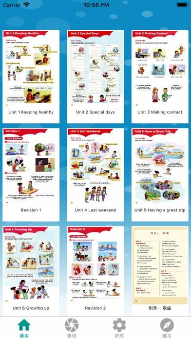 Screenshot for 好妈妈点读机-新起点小学英语五年级下册 in Ukraine App Store