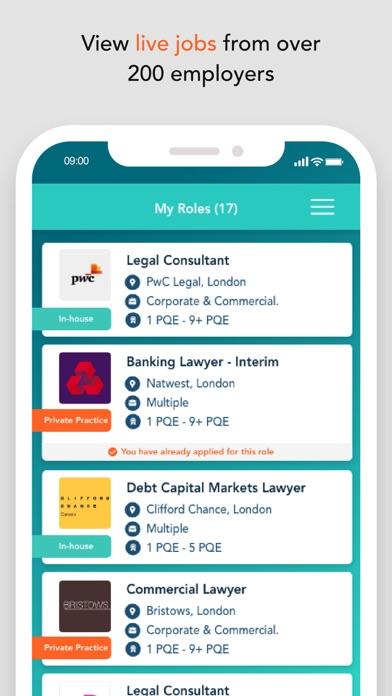 Route1 – legal jobs screenshot four