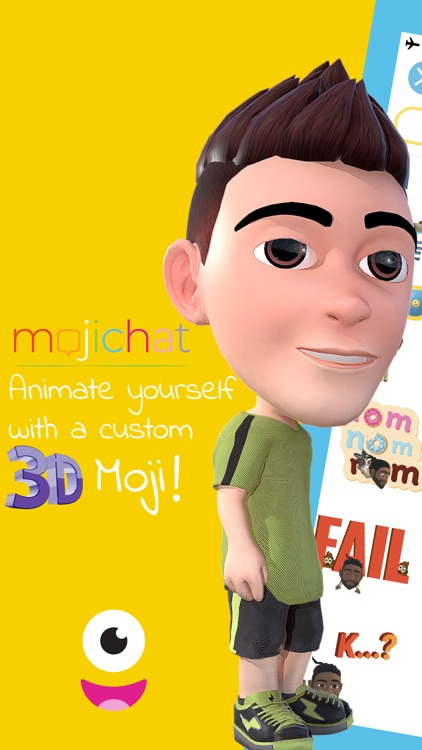 Mojichat: Animated 3D Emojis