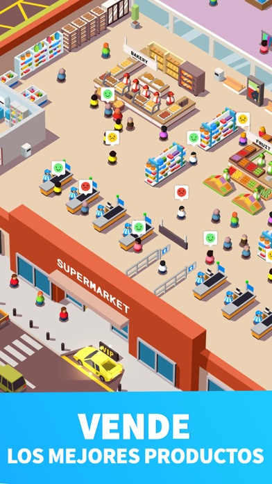 Screenshot for Idle Supermarket Tycoon - Shop in Venezuela App Store