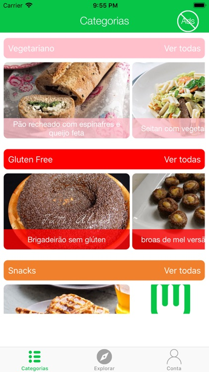 Fit and Healthy Recipes screenshot-0