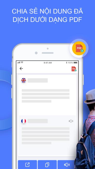 Screenshot for Triplens: Trình Dịch Hình Ảnh in Viet Nam App Store