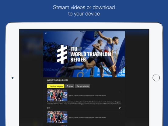 Screenshot #4 for TriathlonLive - Triathlon TV