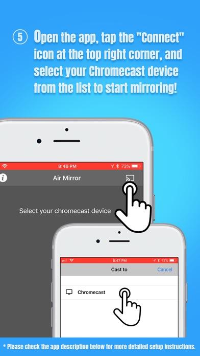 Air Mirror for Chromecast TV app image
