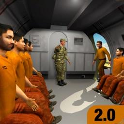 Military Prison Bus Simulator