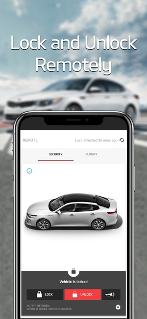Kia Access with UVO link on the App Store
