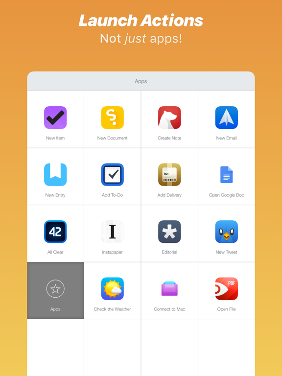 Launch Center Pro - Icon Maker