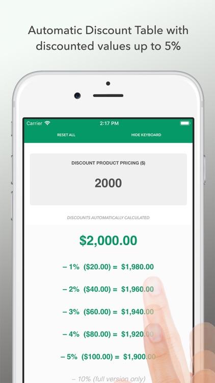 Discount Calculator 2020 LITE