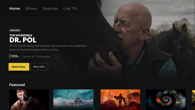 Nat Geo TV: Live & On Demand on the App Store