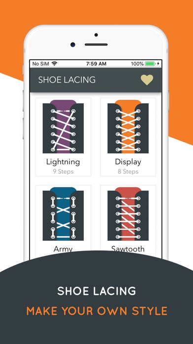How to Shoe Lacing screenshot #1