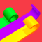 App Icon for Color Roll 3D App in United States IOS App Store