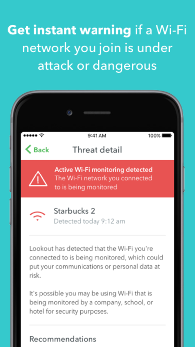 Lookout Mobile Security Screenshot