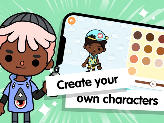iPad Image of Toca Life World: Build stories