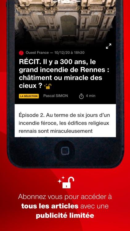 Ouest-France, l'info en direct screenshot-6