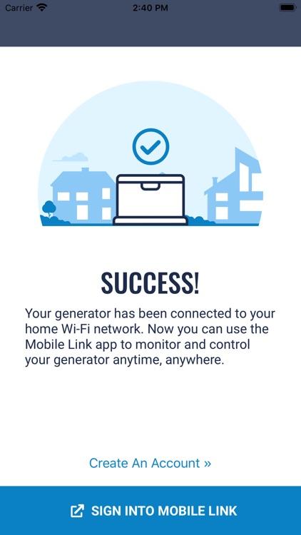 Mobile Link Setup screenshot-3
