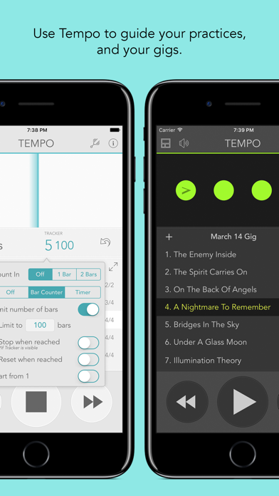 download Tempo - Metronome with Setlist apps 3