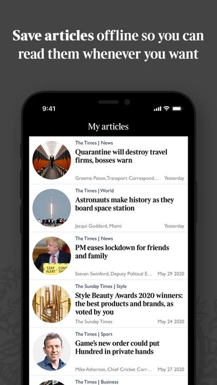 The Times & Sunday Times screenshot-3