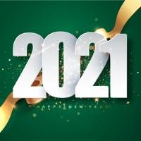 2021 Happy New Year Stickers!