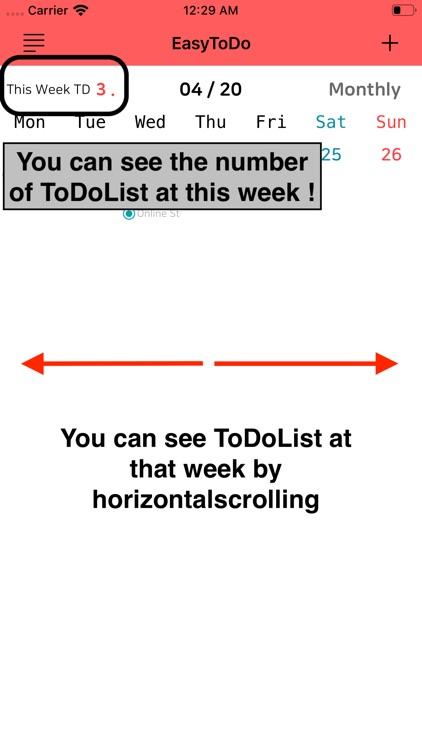 Easy To Do Calendar screenshot-5