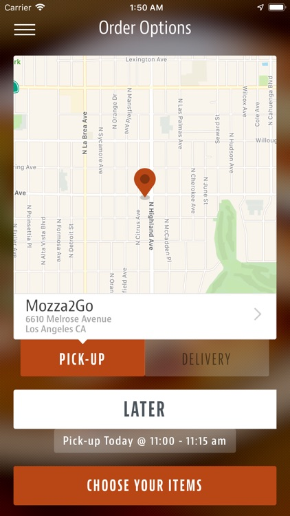 Mozza 2 Go screenshot-1
