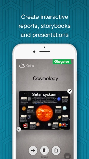 ‎Glogster - Multimedia Posters Screenshot