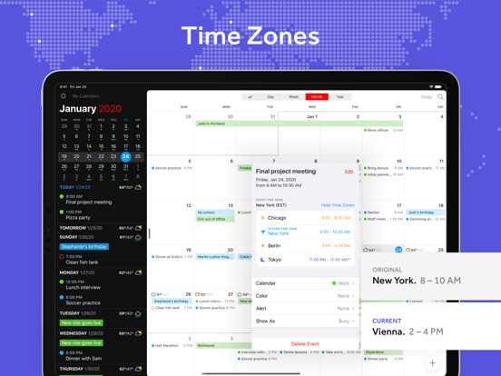 Fantastical - Calendar & Tasks Screenshots
