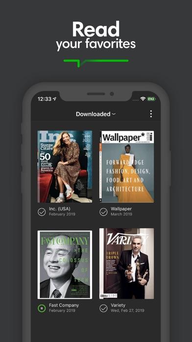 Screenshot for PressReader in United States App Store