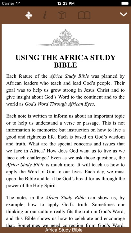 The Africa Study Bible