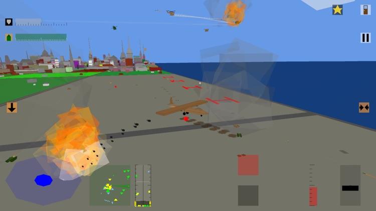 Retro Flight: 3D battle sim screenshot-9