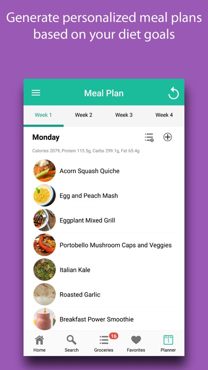 Paleo Recipes & Meals screenshot-5