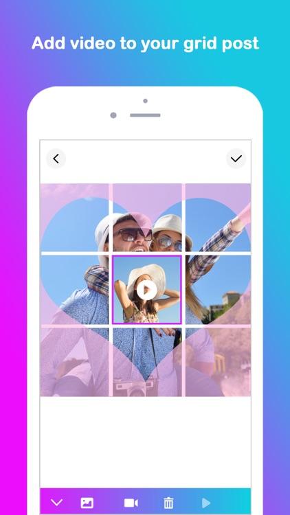Grid Post Maker for Instagram screenshot-8