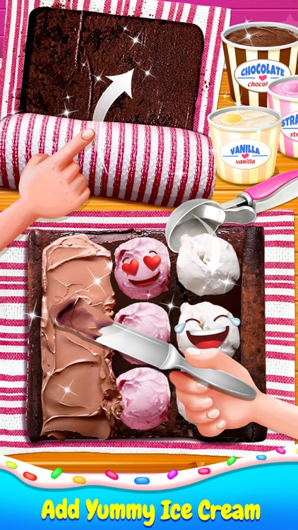 Ice Cream Cake Roll
