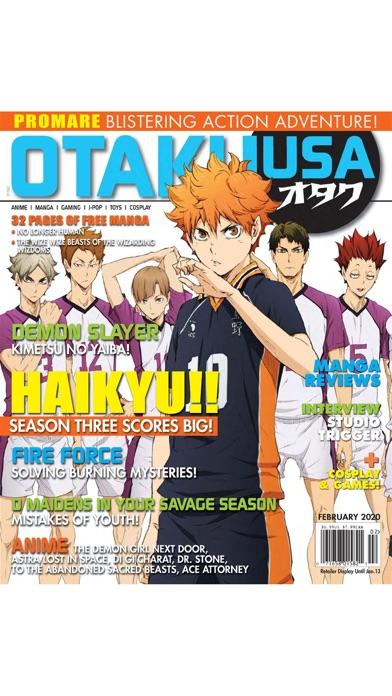 Otaku USA Magazineのおすすめ画像2