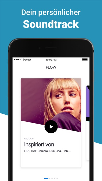 Screenshot for Deezer: Musik & Podcast Player in Germany App Store