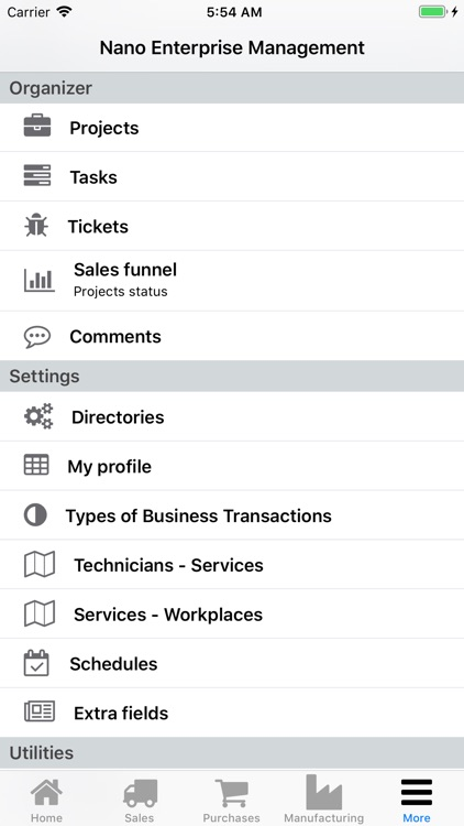 Nano Enterprise Management screenshot-5