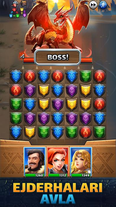 Empires & Puzzles Epic Match 3 iphone ekran görüntüleri