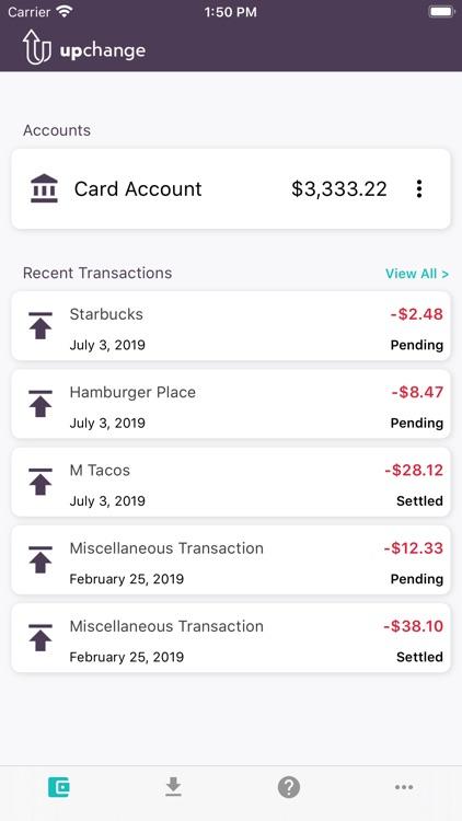 UpChange Mobile Banking screenshot-3