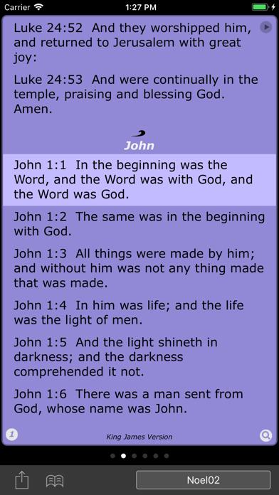Spectrum Bible screenshot one