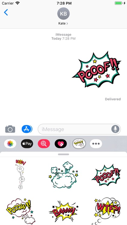 Simply Texts Stickers Pack screenshot-6