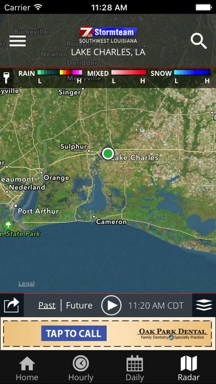 KPLC 7 First Alert Weather screenshot-4