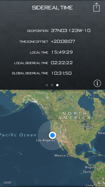 Star Clock – Sidereal Time