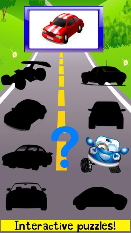 Car Puzzles Toddler Boys FULL screenshot-3