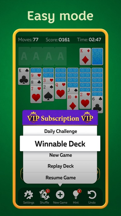 Solitaire Play - Card Klondike screenshot-3