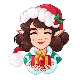 Penelope the Elf stickers pack