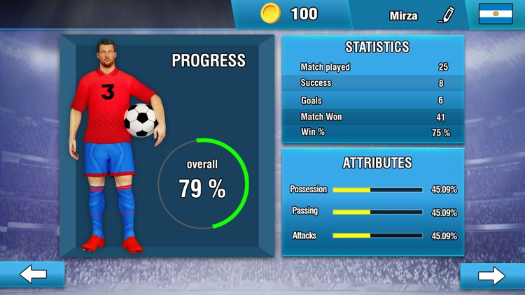 Soccer League : Football Games screenshot-7
